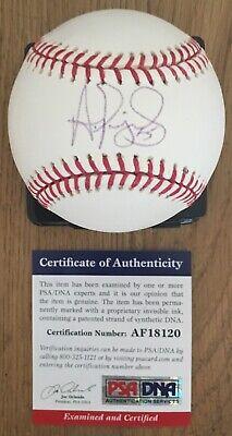 ALBERT PUJOLS W/#5 PSA/DNA AUTHENTICATED SIGNED NEW SELIG MAJOR LEAGUE BASEBALL  Albert Pujols Autographed Baseball