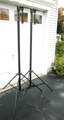 Manfrotto Bogen Auto Poles Three Legs Support (bases) Lower Parts. See Picture.