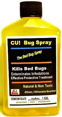 Say Bye-Bye to Bed Bugs SAFELY EcoGreen Spray  CUbugspray  *