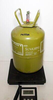 Dupont Suva Hp81 R402b Refrigerant Full 13 Lb Tank