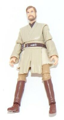 "2008 Hasbro Star Wars 30th Anniversary 3.75"" Obi-Wan Kenobi Action Figure Used"