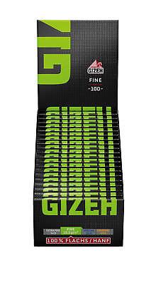 Gizeh Blättchen Papier Gizeh grün Fine mit Magnet 3 x 20 Heftchen mit je 100 Bla