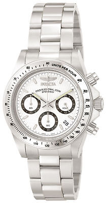Invicta Silver Wrist Watch (Invicta Men's Speedway Chronograph Stainless Steel 9211 Wrist)