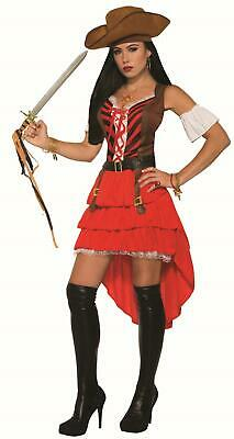 Pirate Vixen Sexy Women's Buccaneer Pirate Adult Costume (Pirate Vixen Costume)