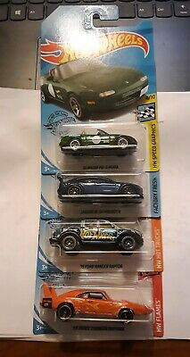 2020 Case B Hot Wheels GameStop Color Exclusives SET of 4