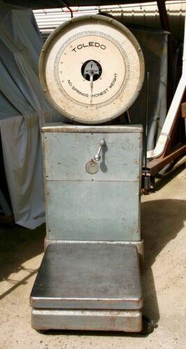 TOLEDO Model 2031 Floor Scale, 100 Pound Capacity