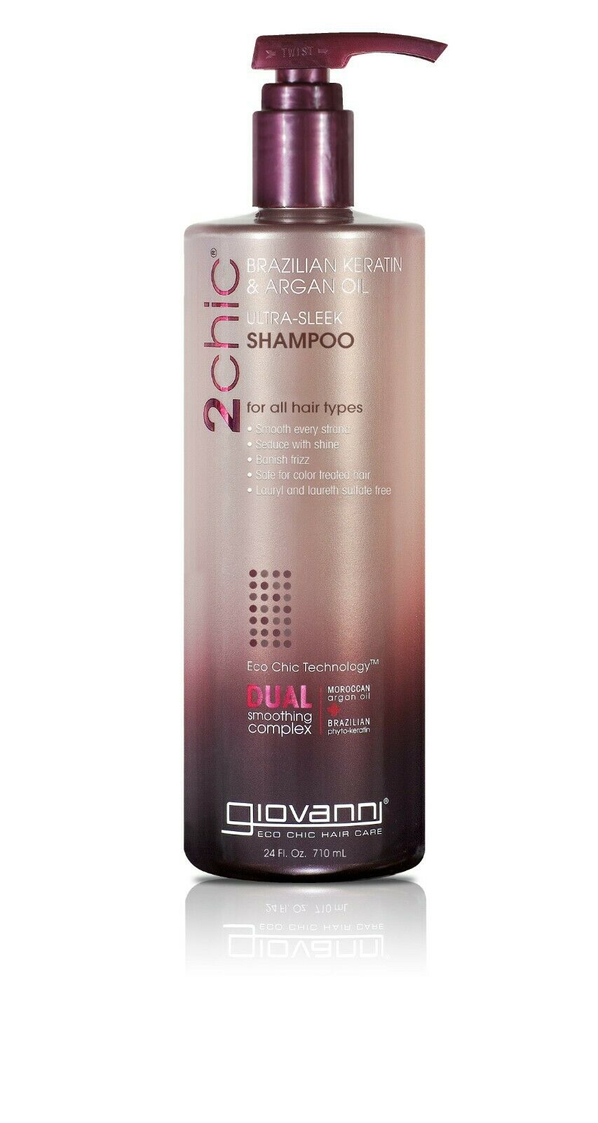 Giovanni 2Chic Brazilian Keratin and Argan Oil Ultra-Sleek S