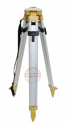 Dome Head Aluminum Tripod For Laser Leveltransit For Topcon Spectra Hilti