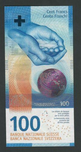 SWITZERLAND  100  FRANCS 2019   P-78   UNC