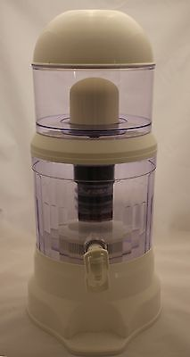 Countertop 4 Gallon 8 Stage Mineral Water Purifier System - BPA FREE 8 Stage Countertop Water