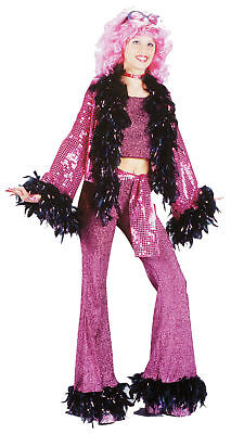 Disco Diva Teen Costume Girl 70s Bell Bottoms Retro Dance Theme Party Halloween