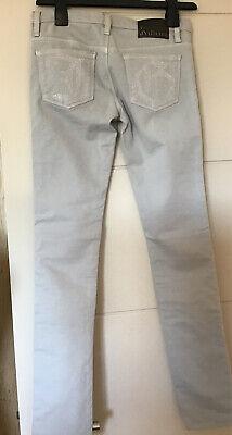 John Galliano Girls Grey Slim Fit Stretch Jeans Age 12