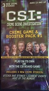 CSI Board Game Refills/New Cases NEW