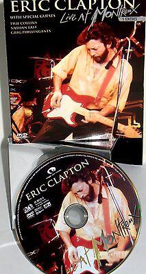 Eric Clapton   Live At Montreux 1986 Dvd New Live Concert Phil Collins Free Ship