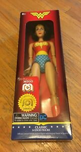 """Limited edition Mego Wonder Woman 14"""" articulated action figure"""