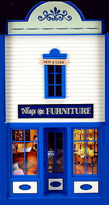 PIKO  VILLAGE FURNITURE  Stockpile G Scale Building Qwik Kit # 62722  New in box