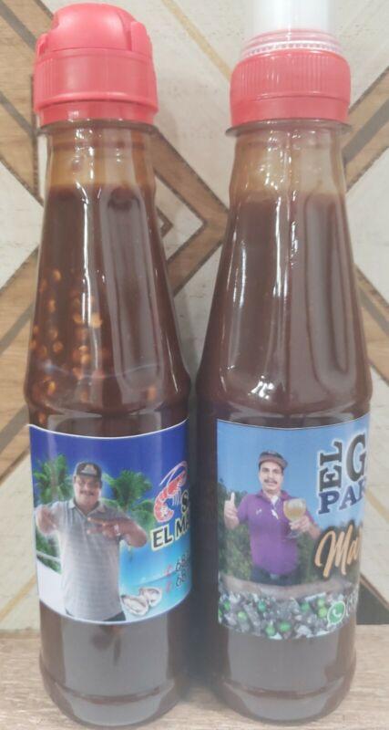 2  pack Salsa el gato parado + la nueva salsa del marisquero