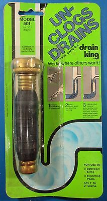 Drain King Drain Unclogger 501 For 1-2 Drains