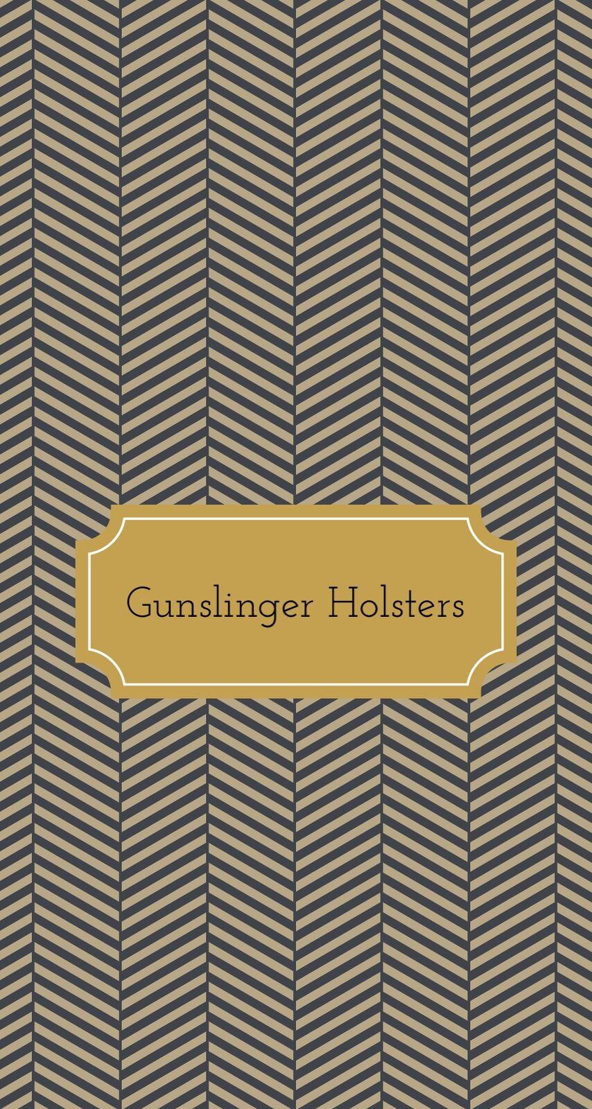Gunslinger Gun Holsters