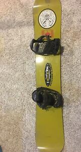 Private label snowboard and bindings