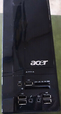Acer SFF PC Tower Dual Core Windows 10 2.2Ghz 4GB 250GB DVD HDMI VGA USB Media