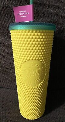 🍍 NEW Starbucks Hawaii Exclusive 2020 Pineapple Matte Studded Tumbler Cup 24oz