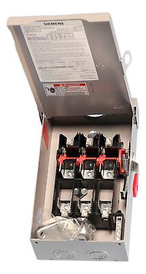 Gf322nra Outdoor Fusible Safety Switch 60a 240v By Siemens