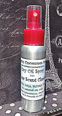 Mermaid Kisses~Silky Dry Oil Fragrance Perfume Scented Mist Spray 2.5oz - Mermaid Spray Perfume