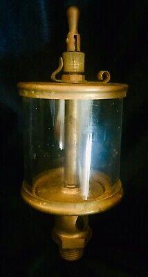 Lunkenheimer No. 5 Fig. 1300 Sentinel Brass Oiler Hit Miss Engine Vintage