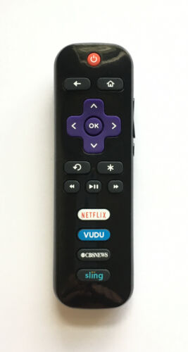 New Rc280 Led Hdtv Remote For Tcl Roku Tv With Cbsnews Sling Netflix Vudu
