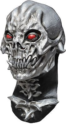 Halloween RED EYES SKULL DESTROYER Adult Latex Deluxe Mask Ghoulish Productions