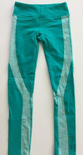Jo+Jax Dancewear Turquoise Leggings Youth Large