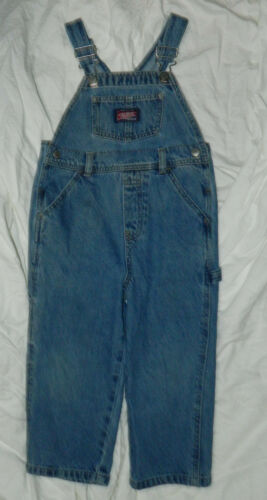 Infants Unisex Classic Old Navy Brand Denim Overalls size 3T / 22x14