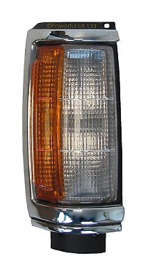 Front RH corner indicator side lamp new chrome+black Mitsubishi L200 K22 O/S