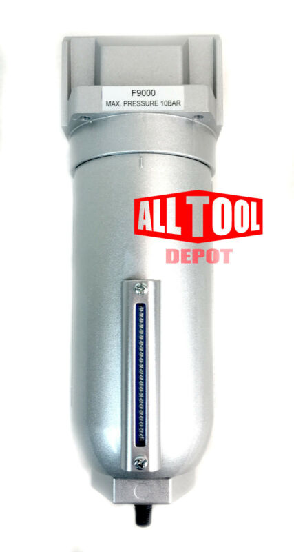 "3/4"" Inline Air Compressor Water Moisture Filter Trap Separator w/ Auto Drain"