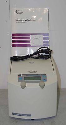 Beckman Coulter Microfuge 18 W F241.5p Rotor Nice