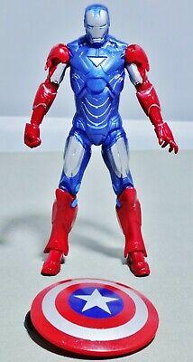 Marvel Iron Man 2 2010 Kmart Excl IRON MAN (MARK VI) (VIBRANIUM ARMOR) - - Mark Vi Iron Man
