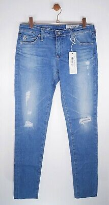 AG Jeans - Legging Ankle Super Skinny with Raw Hem in 12 Years Canyon Size 30
