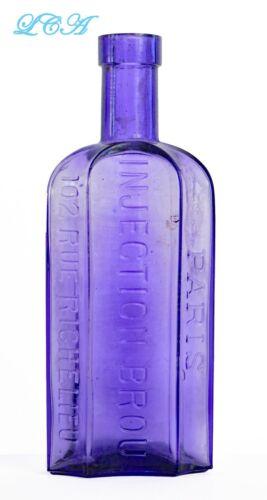 Ornate Antique V.D. CURE Syphilis Gonorrhea Venereal Disease QUACK CURE bottle