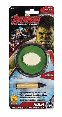INCREDIBLE HULK Face Makeup Kit For Halloween Costume Ages 8+