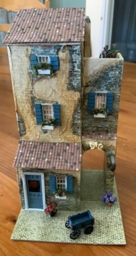 """1/4"""" Scale Arch de Provance House by IGMA Artisan Sue Herber - All Rooms Furnish"""