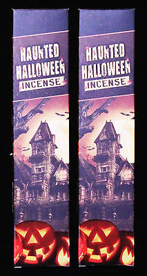 2 x 15g Boxes R.Expo HAUNTED HALLOWEEN Premium Incense Insence Sticks Bulk Packs