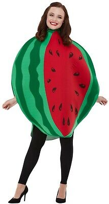 Women's 5 A Day Water Melon Fruit Fancy Dress Costume Hen Night Tropical Theme - Water Melon Costume