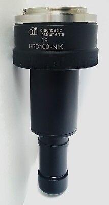 Diagnostic Instruments Nikon F-mount Hrd Coupler Digital Camera Adapter