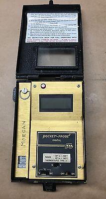 Edl Digital Pocket Probe Type J Pyrometer Thermocouple -120 To 1400 F