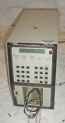 Egg Parc Princeton Applied Research Model 400 Ec Electrochemical Detector