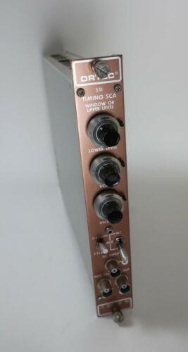 Ortec 551 Timing Single Channel Analyzer SCA NIM Module Plug-In