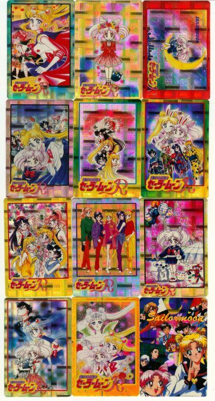 Sailor Moon Prism Pluto Jupiter Sticker Card Set of 50 - Anime Animation Lot