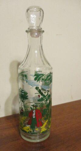 Vintage Pirate Captain Morgan Glass Rum Liquour Bottle Owens Illinois Glass Co.