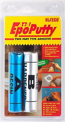 NEW!! EPO Putty A+B 2-part Adhesive - Alteco Underwater 100g